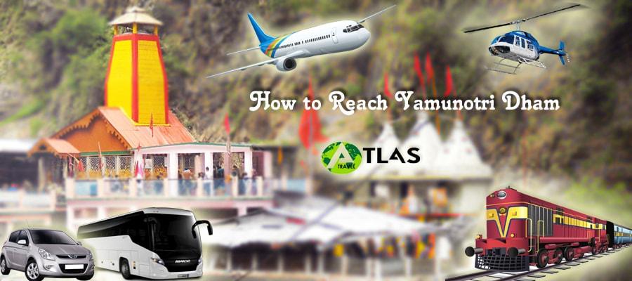 How to Reach Yamunotri Dham
